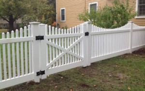decortive open spaced picket